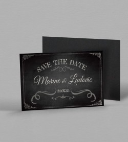 Save the date Magnet vintage Clapper