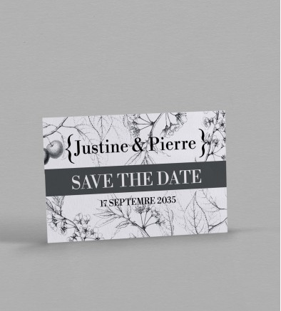 Save the date Botanique Augustine