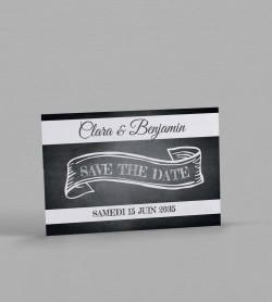 Save the date vintage Blake