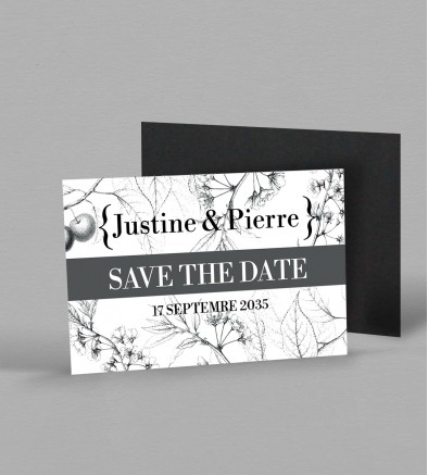Save the date Botanique Magnetique Augustine