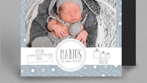 Faire part naissance Magnet Sweet