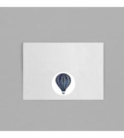 Macaron enveloppe Montgolfière
