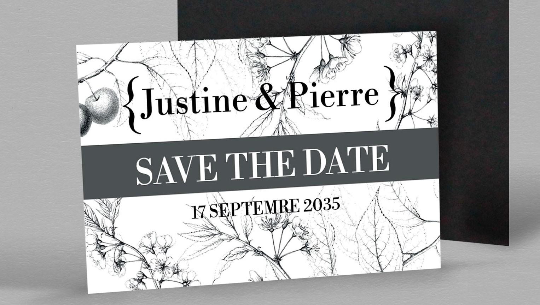Save the date Botanique Magnetique Augustine