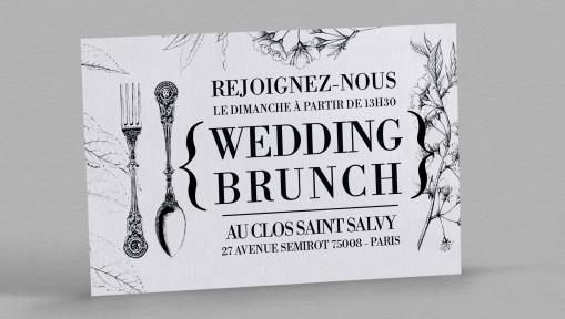 Wedding brunch Botanique Augustine