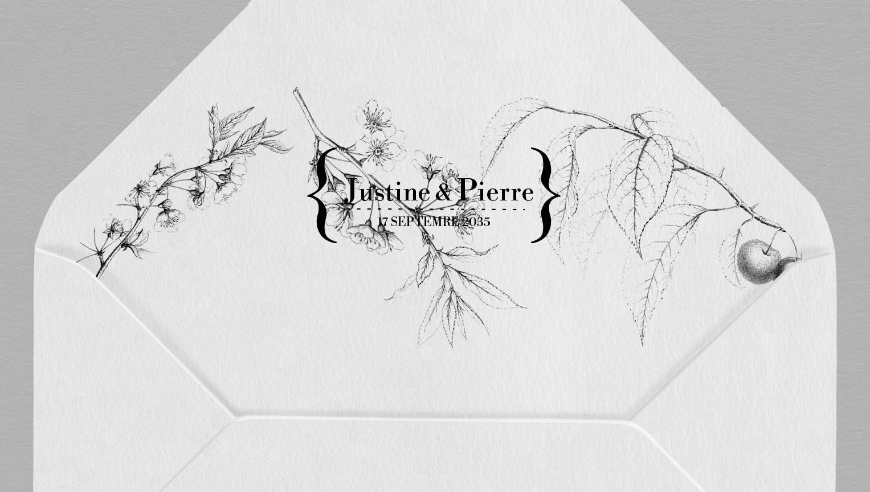 Intérieur enveloppe Botanique Augustine
