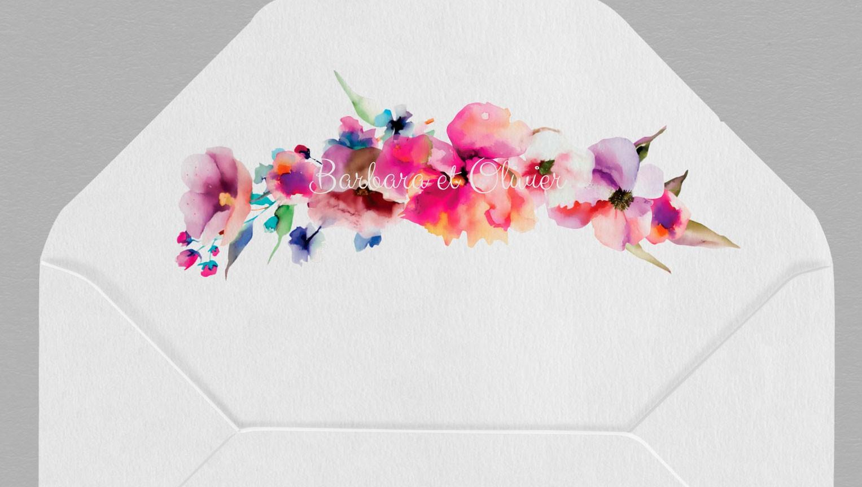 Intérieur enveloppe champêtre Liya