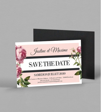 Save the date magnet Enola