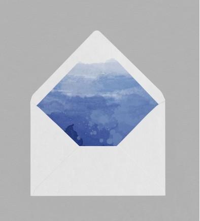 Intérieur enveloppe Infinity Blue