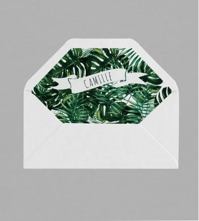 Intérieur enveloppe Jungle
