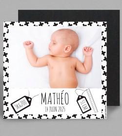 Faire part naissance Magnet Grafik