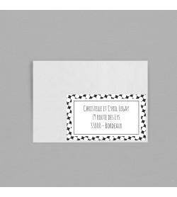 Etiquette enveloppe Grafik