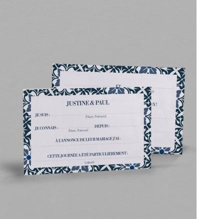 Carte urne Jeanne