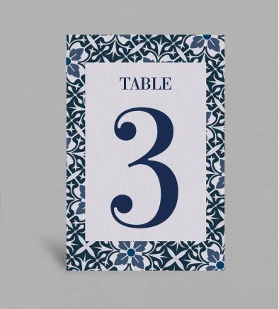 Numéro de table Jeanne