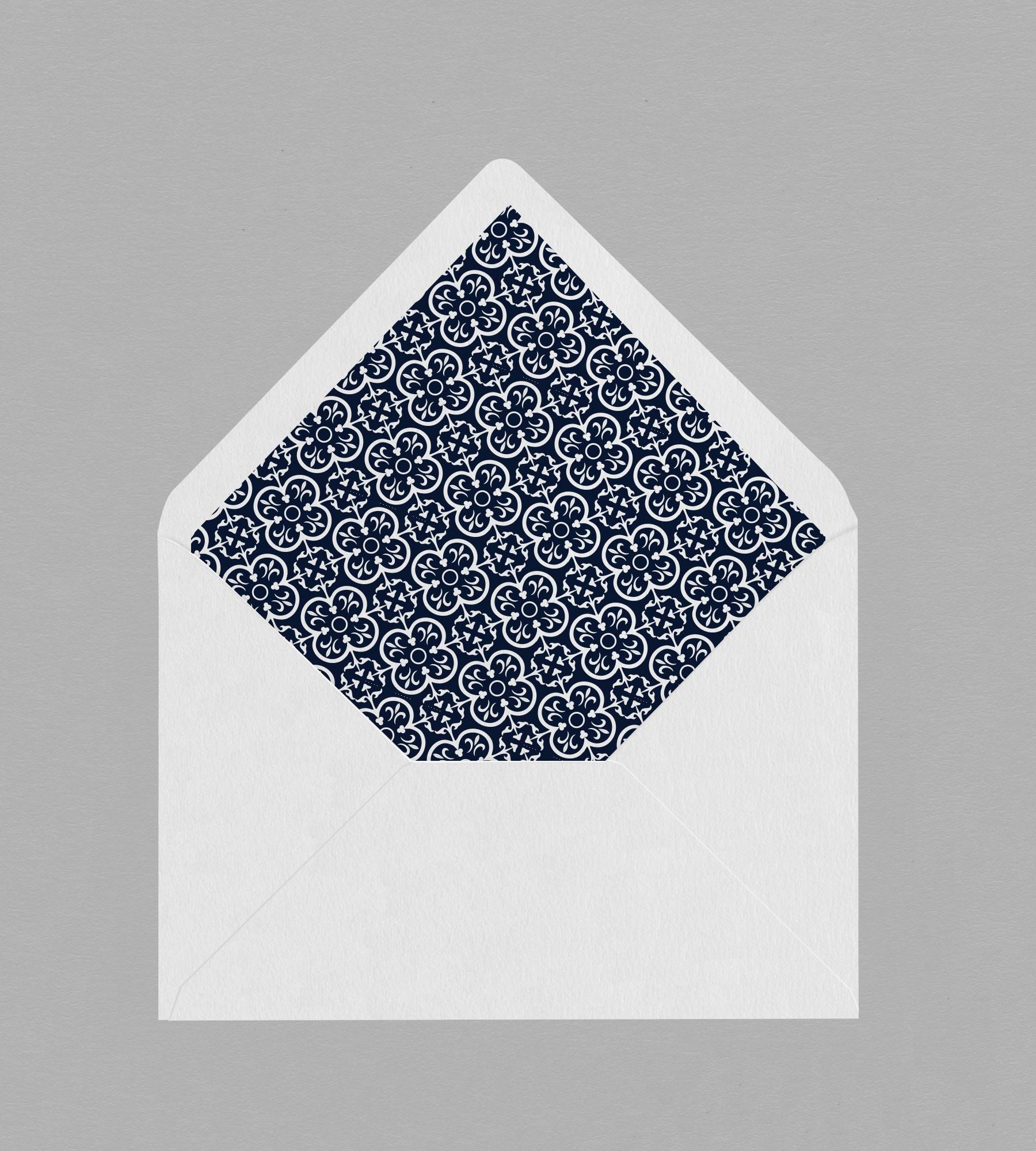 Intérieur enveloppe Félicie