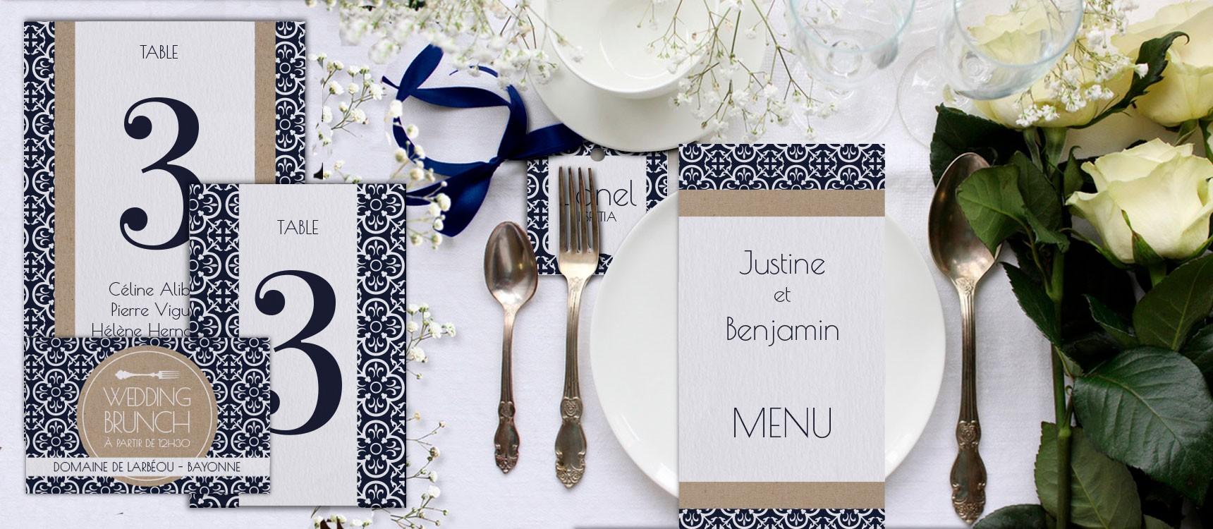 Plan de table Félicie