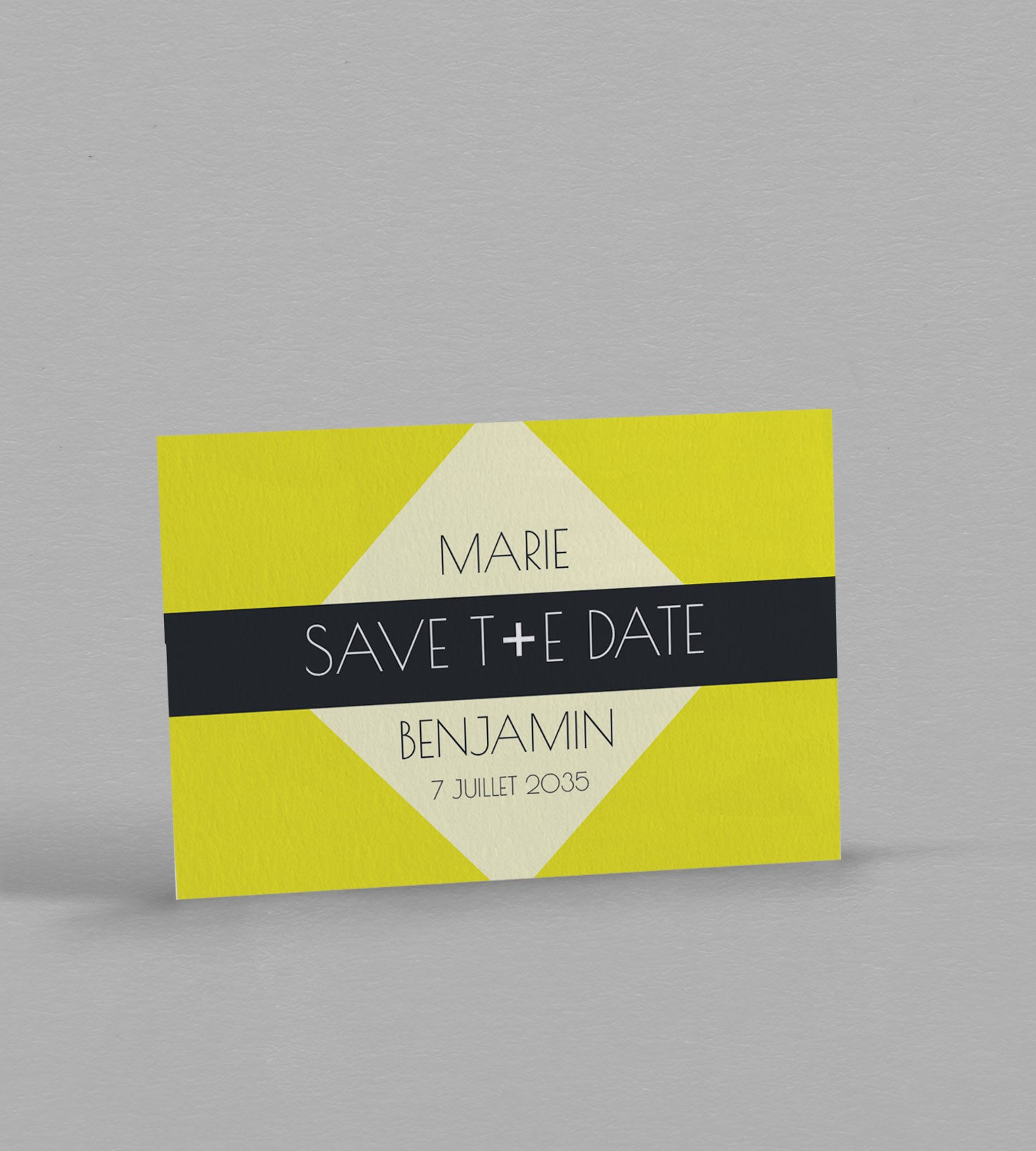 Save the date exotique Brazil