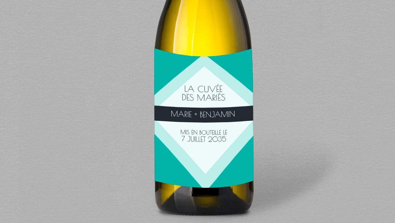 Etiquette bouteille de vin Brazil