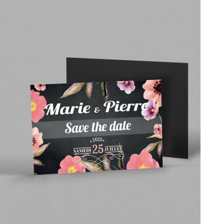 Save the date magnet Célestine