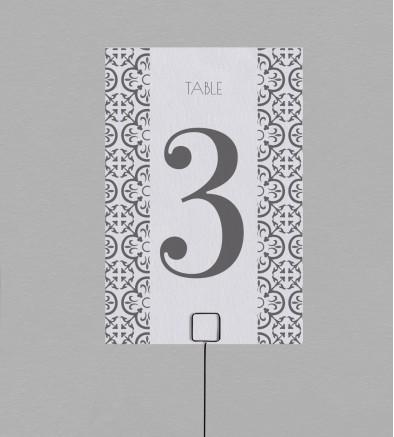 Numéro de table Salomée