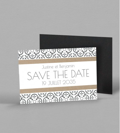 Save the date Magnet Salomée