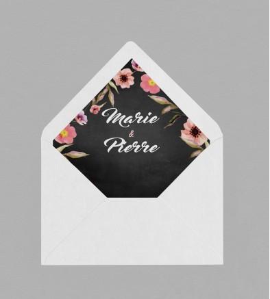 Intérieur enveloppe Champêtre Célestine