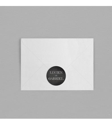 Macaron enveloppe vintage