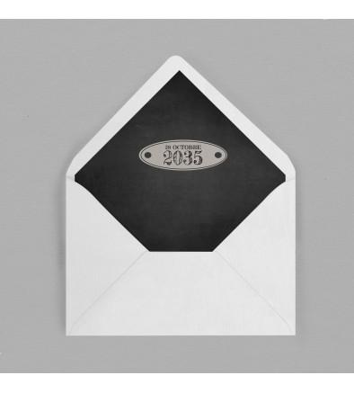 Intérieur enveloppe vintage