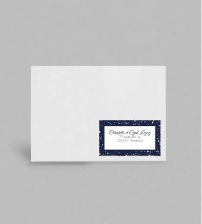 Etiquette Enveloppe Constellations