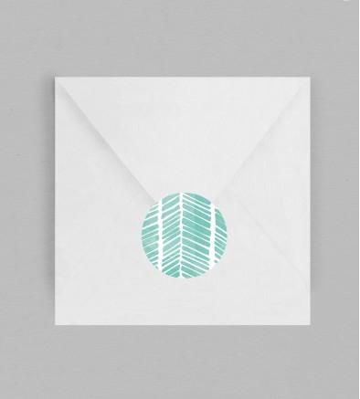 Macaron enveloppe Swann