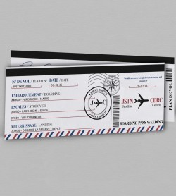 Programme voyage Boarding pass