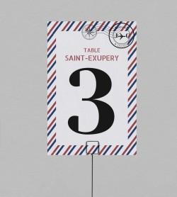 Numéro de table voyage Boarding Pass