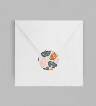Macaron enveloppe Botanique