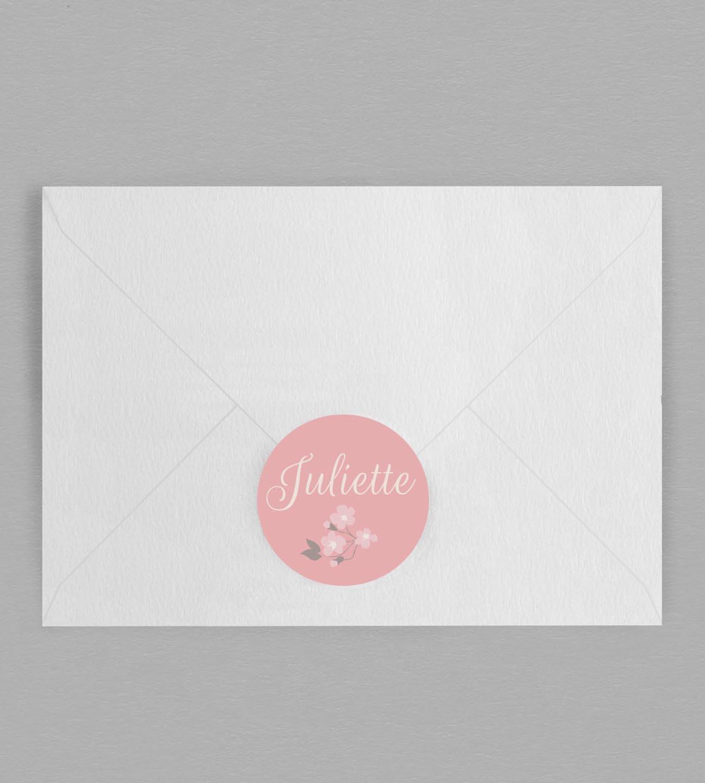 Macaron enveloppe Salomé