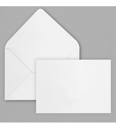 Enveloppe blanche 114 x 162 mm