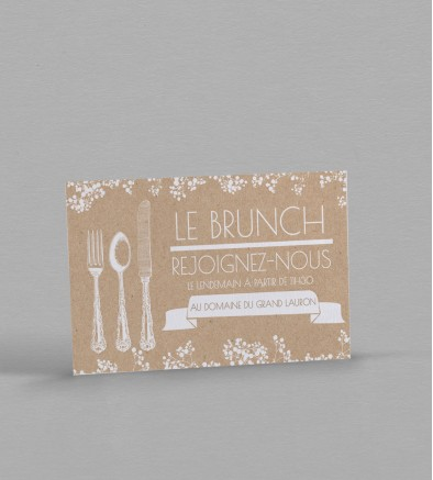 Wedding Brunch champêtre chic Colette