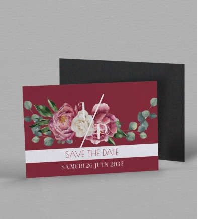 Save the date Magnet champêtre Gabriel