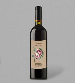 Etiquette bouteille de vin champêtre Gabriel