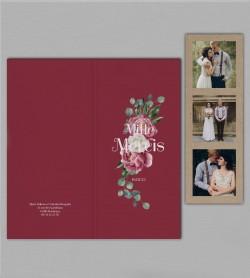Remerciement mariage champêtre Gabriel