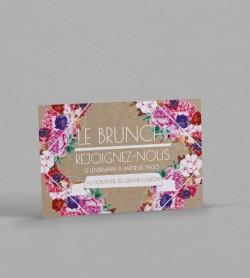 Wedding Brunch boho chic Flora