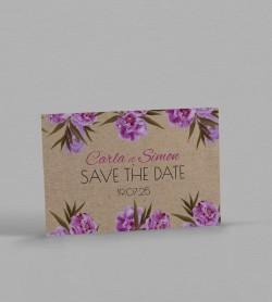 Save the date champêtre Victorine