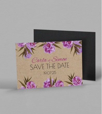 Save the date magnet Victorine