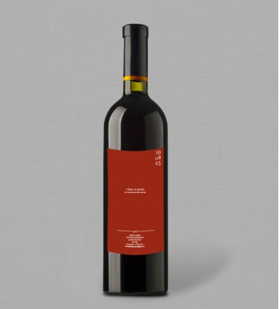 Etiquette bouteille de vin Terra Cotta