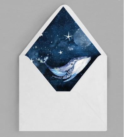 Intérieur enveloppe Baleine