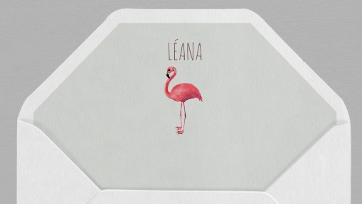 Intérieur enveloppe Flamingo