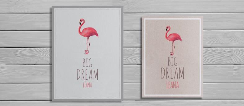 Affiche Flamingo