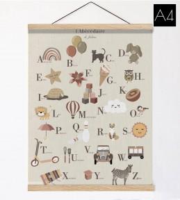 Affiche et suspension en bois A2