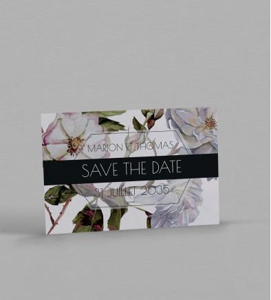 Save the date botanique Appoline