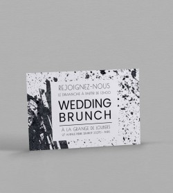 Wedding Brunch design Pollock