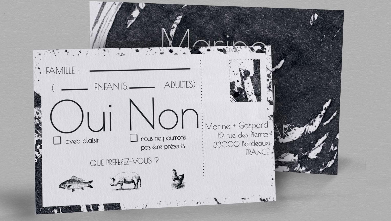 Carton Reponse Design Pollock