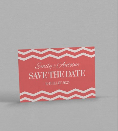 Save the date Seductive Rose